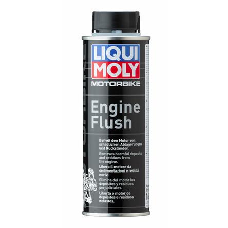 Motorbike Engine Flush