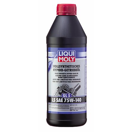 Vollsynthetisches Hypoid-Getriebeöl (GL5) LS SAE 75W-140