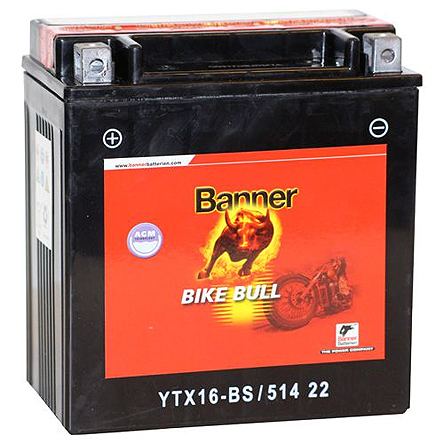 Bike Bull AGM AGM 514 22 / YTX16-BS